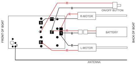 Rc Motor Wiring Diagram by How To Install 27 Mhz Or 40 Mhz Rc Boat Receiver
