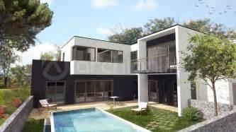 plan maison 騁age 4 chambres cout construction d une maison maison moderne