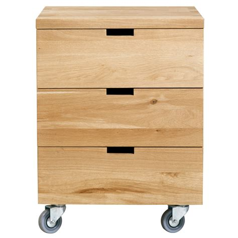 caisson bureau fly solid oak office desk drawer unit at 4 living billy by