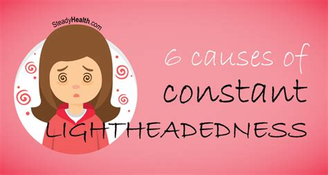 constant lightheadedness cardiovascular