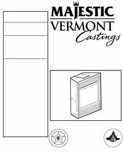 Vermont Casting Indoor Fireplace Dvrt36 User Guide