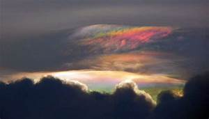 Iridescent Clouds Observed Above Bangalore, India ...