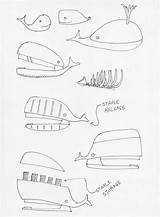 Stapler Moby Hagai Zakai Monkey Sketch Whale Drawing Designboom Quirky sketch template