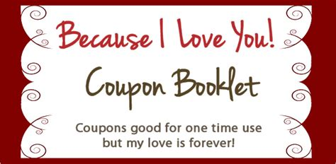 love coupon template template business