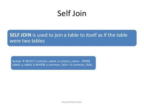 sql joins  join  join outer joins