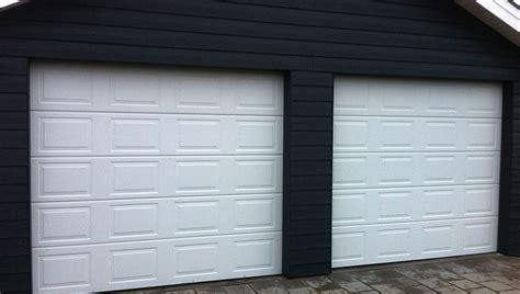 Garage Port by Salg Af Garageporte Dansk Portmontage