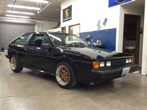 VW Black Scirocco 16V For Sale   Buy Classic Volks