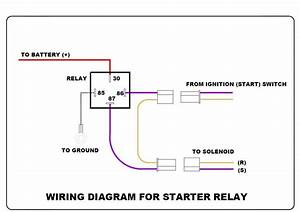 Wiring-diagram-of-starter-relay