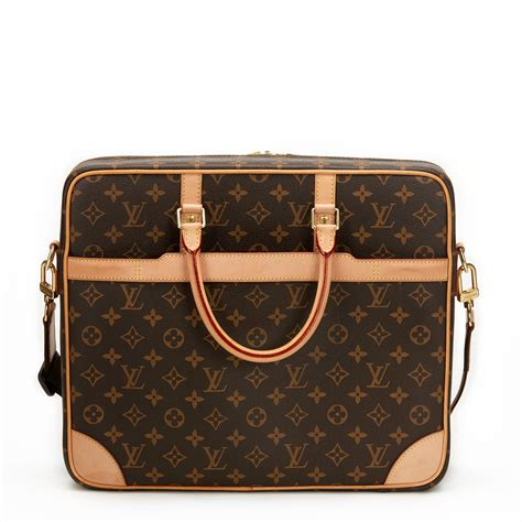 louis vuitton cupertino laptop bag  cb