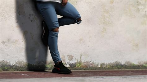 distressed denim jeans  gtamodnet