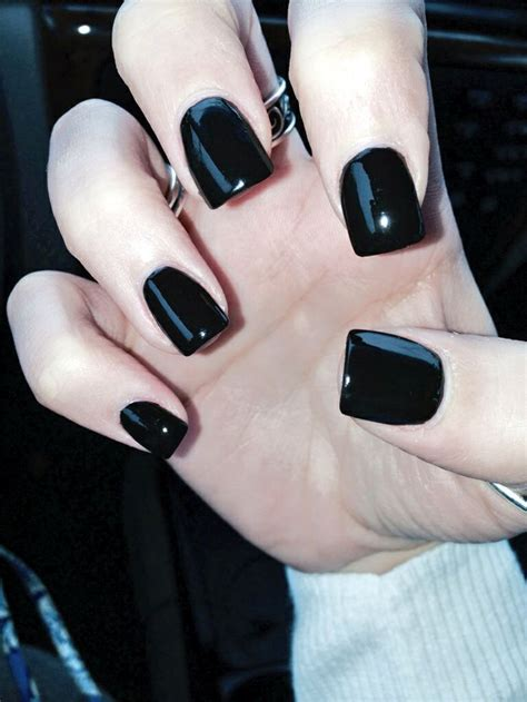 bold black nail art inspirations godfather style