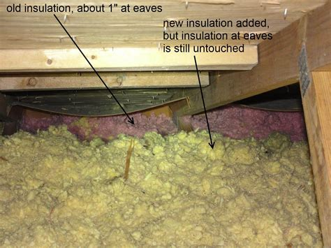 poorly insulated eaves   houses homesmsp