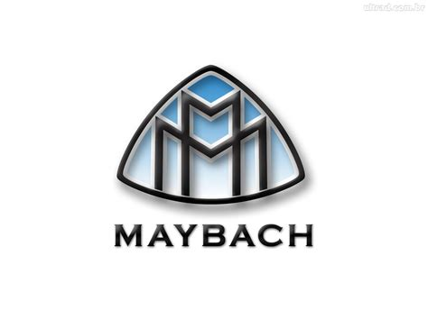 Auto Cars Logos: Maybach Logo