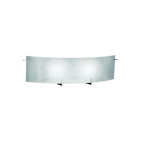 eurofase prisma collection 2 light chrome wall sconce 7224