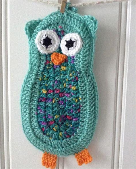 owl kitchen set owl kitchen set crochet pattern maggie s crochet