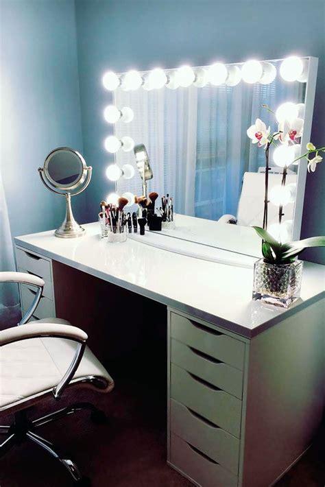vanity con best 25 corner makeup vanity ideas on