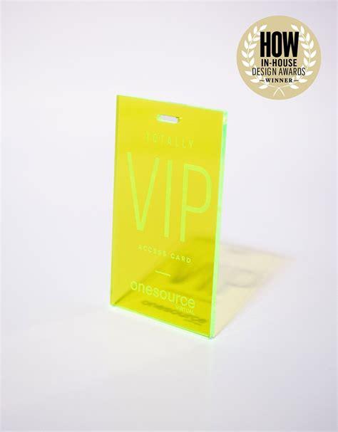 Award Winning Corporate Invitation Design from OneSource