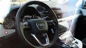Audi Q8 Interieur : audi q8 spied on the inside showing sq7 bits dual touchscreens ~ Medecine-chirurgie-esthetiques.com Avis de Voitures
