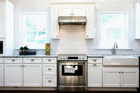 Luxury White Flat Panel Kitchen Cabinets  Gl Kitchen Design