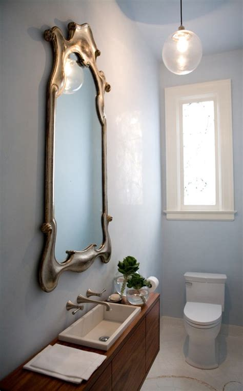 small  elegant powder room design digsdigs