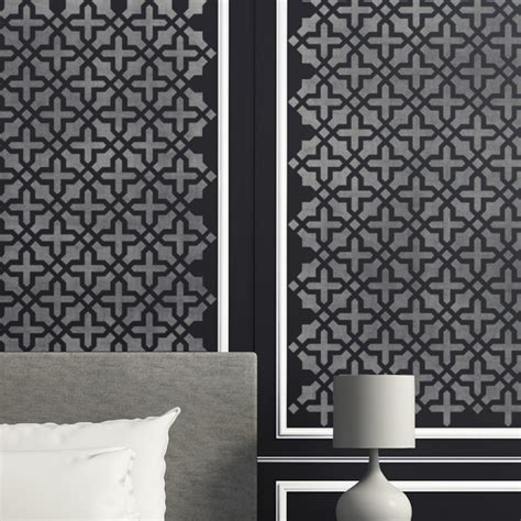 Decor And More by Wall Pattern Stencil Blanche Allover Stencil For Wall Diy