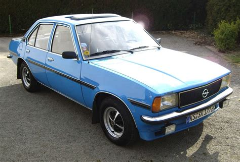 opel car legendary cars opel ascona b 1975 1981