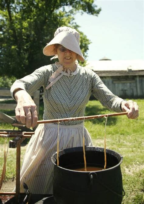 chores  tours  days offers  glimpse  pioneer