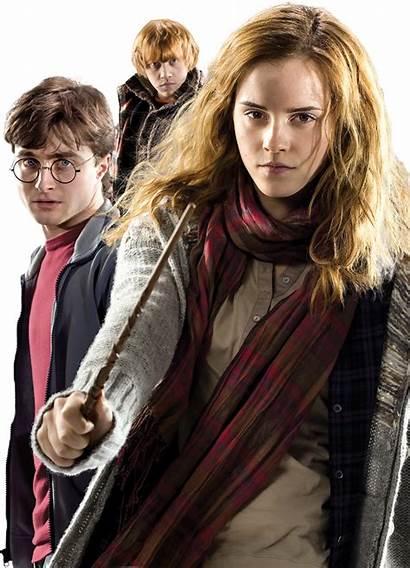 Potter Harry Ron Trio Hermione Weasley Golden