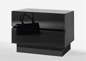 Nachttisch Schwarz Hochglanz : nachttisch schwarz hochglanz haus m bel nachtkommode color 02 nachttisch korpus schwarz front ~ Orissabook.com Haus und Dekorationen