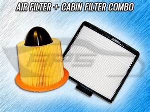 Air Filter Cabin Filter Combo For 1997 1998 1999 2000 2001