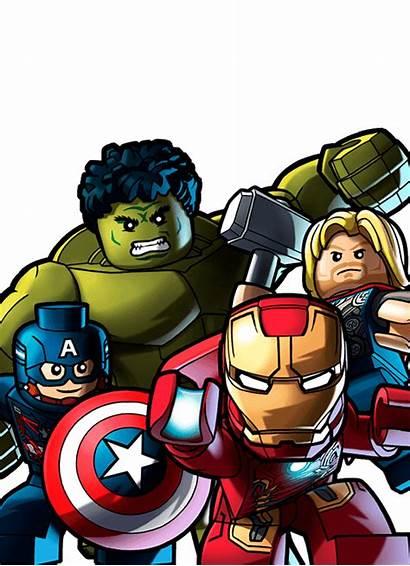 Marvel Superhero Avengers Clipart Superheroes Lego Heroes