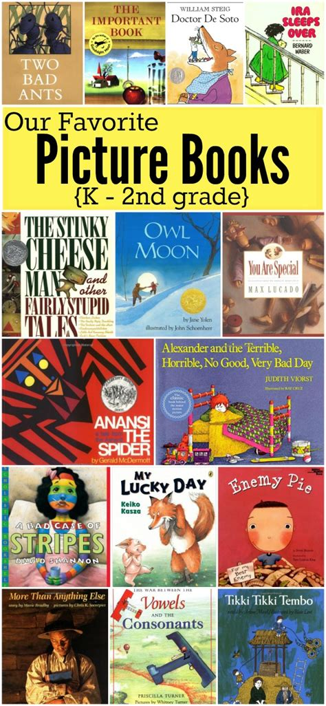 Favorite Picture Books For K2nd Grade