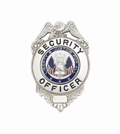 Badge Security Officer Guard W64 Card Popscreen