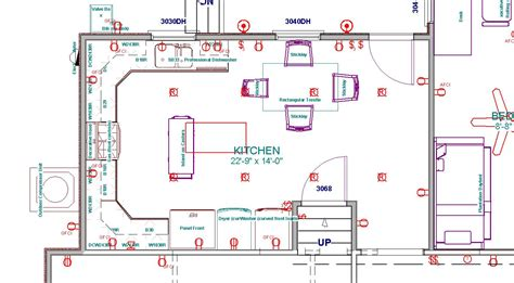 drawing  kitchen layout  layout room