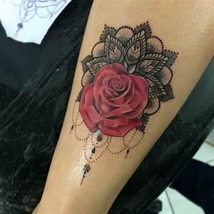 Tatouage Rose Epaule Signification Tatouage Femme Rose Rouge Les