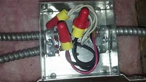 Split Electrical Wire Junction Box