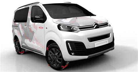 New Citroen Spacetourer 4x4 Ë Concept Is A Cool All