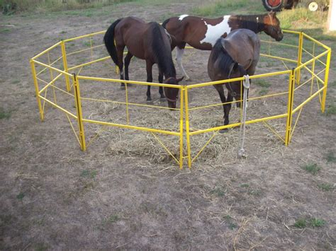 horse corral corrals machine portable panels livestock mountainview rodeo