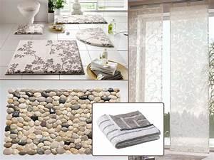 tapis de bain et nouvelle ambiance pour la salle de bains With tapis galet salle de bain