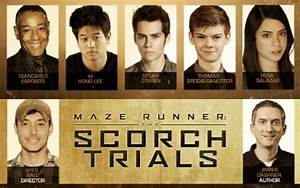 The Scorch trials Cast at Comic con - The Maze Runner ...
