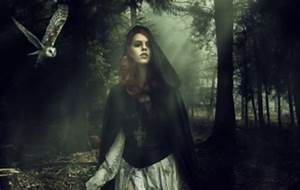 How To Make Light Beams In Photoshop Create A Dark Forest Photo Manipulation In Photoshop