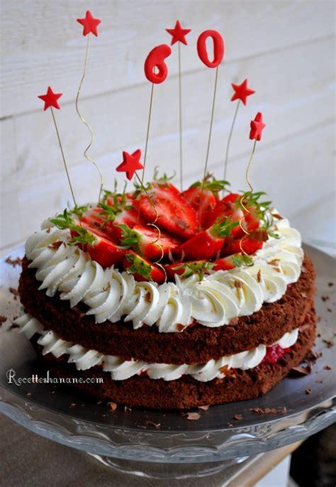recette creme decoration gateau decoration gateau chocolat fraise
