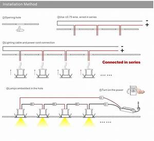 Wiring Diagram Led Downlights