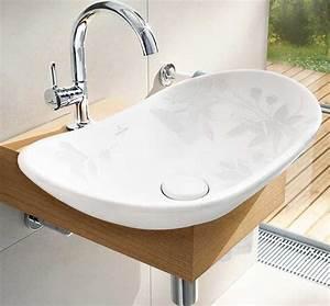 Waschtischplatte Für Einbauwaschbecken : holz waschtischplatte 21 gestaltungsideen f r angenehmes ~ Michelbontemps.com Haus und Dekorationen