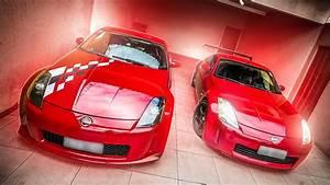 Tem Dois Nissan 350z Vermelho Na Minha Garagem