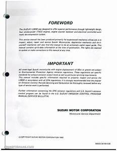 Download Suzuki Motorcycle Repair Manual Free