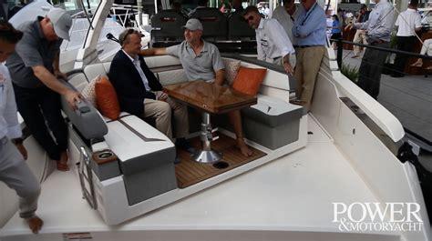 video tiara sport  ls power motoryacht