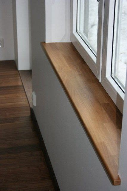 Interior Window Sill by F 246 Nsterb 228 Nker Finish Trim Windows Wood Window Sill