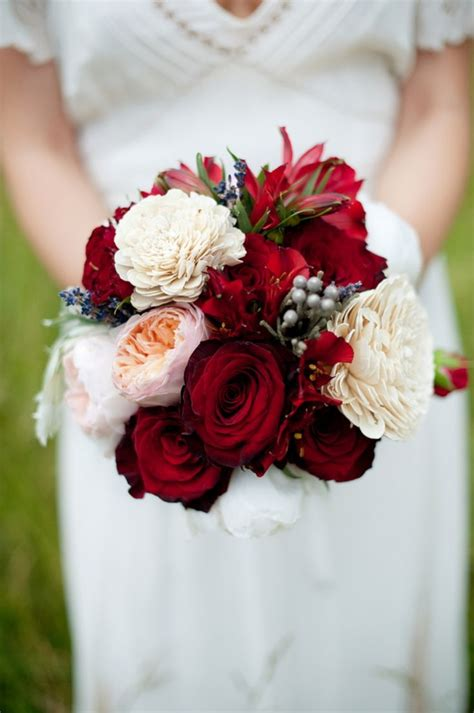 red bridal bouquets  love  collection  ideas