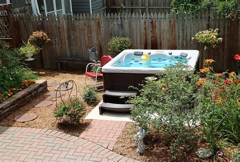 indoor wall backyard ideas for tubs and swim spas